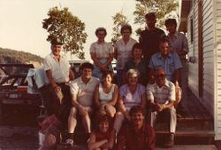 Summer Picnic Two Islands early 80's